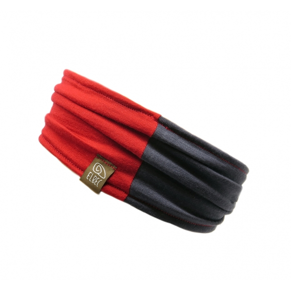 Headband Light RED Grey