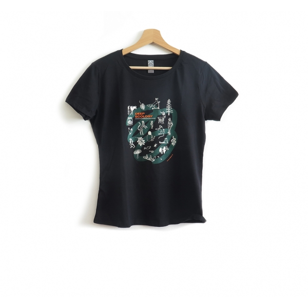 Deep Ecology Black Cotton Woman
