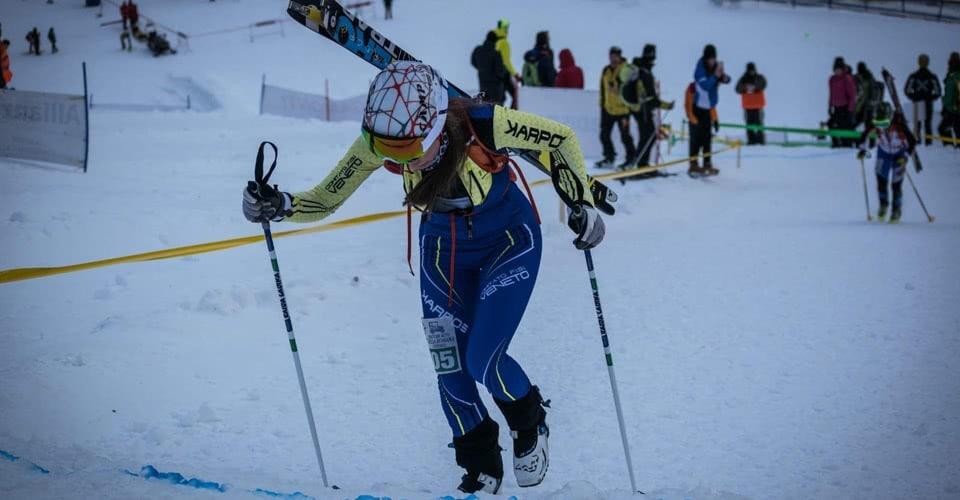 Squadra Sci Alpinismo Veneto e Club Sci Nordico Marmolada
