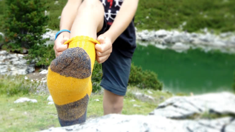 Light Hiking Socks Organic Wool